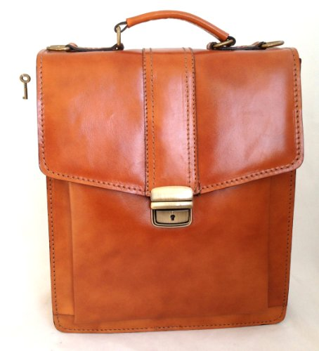 Fashion Bag Chicca Tous les hommes avec une véritable 27x32x10cm de sac à main en cuir