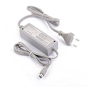 Tinksky Adapter Ladegerät Ladekabel AC für Nintendo Wii U Gamepad(Grey)