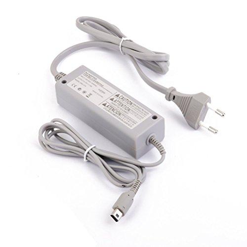 Tinksky Adapter Ladegerät Ladekabel AC für Nintendo Wii U Gamepad(Grey) (U-adapter-kabel Wii)