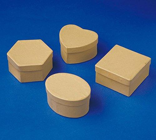 Playbox - Cajas (marrón) - 7-8 cm - 12 Unidades - (PBX2470254)