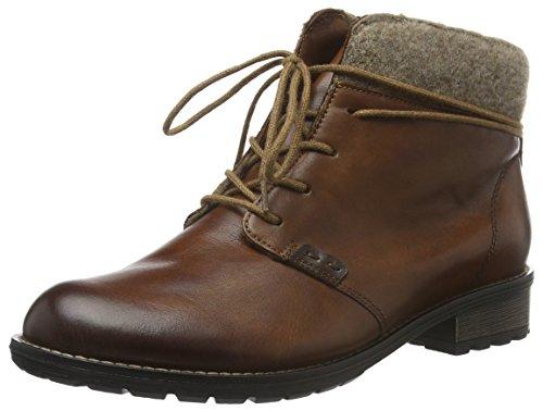 Remonte Damen R3332 Combat Boots, Braun (Chestnut/Kastanie/Wood / 24), 40 EU