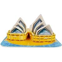 Puzzle in 3D, vari soggetti: Titanic, Big Ben, Torre di Pisa, Torre Eiffel, Tower Bridge, Casa Bianca, ecc., idea regalo