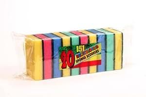 Sponge Scourers 20/Pk