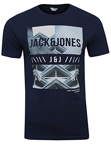 Navy Tee (JACK & JONES ( expanse tee navy blazer S ))
