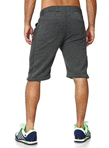 Akito Tanaka kurze Herren Sweat Jogging pants Trainings Shorts Capri  Bermuda Hose Okinawa dunkelgrau anthrazit dunkelgrau ...