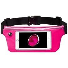 Premium actividad deportiva riñonera cinturón de bolsillo para Sony Xperia XZ1, Z2, Z3, Z, XA1Plus, XZ1compacto, L1, XZ Premium, XA1XA2Ultra, xzs, XA1, XZ, X compacto + MND Mini lápiz capacitivo