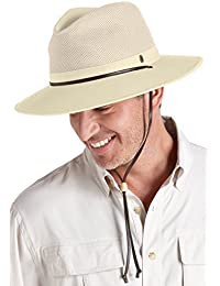e3544db8bd297 Coolibar UPF 50 Plus Crushable Ventilated - Sombrero para Hombre