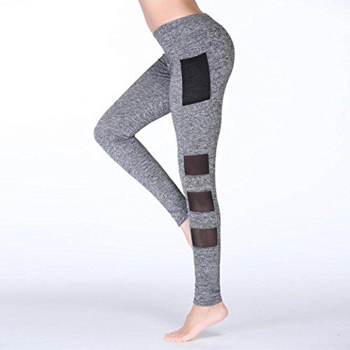 Tpulling - Leggings sportivi -  donna Grigio