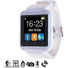 DAM - Smartwatch Multifunción Bluetooth Blanco
