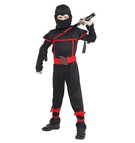 Enfants Ninja Costume Samurai combattants Cosplay Guerrier Carnaval jeunes +