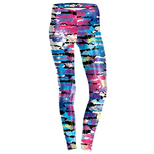 QE-Halloween/Weihnachten Bedruckte Leggings Hose/Frauen Leggins Damen Digital Print Strumpfhosen, 3D Digital Print Leggings, Strumpfhosen, S, ()