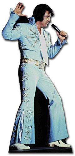 Star Cutouts Ltd - Cartonato di Elvis in abito da scena, blu