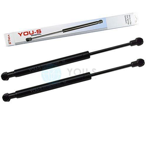 SiS-Tec 1718800129 Lot de 2 v/érins /à gaz pour capot moteur Longueur 675 mm Force 300 N