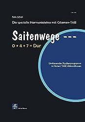 Saitenwege-Die spezielle Harmonielehre mit Gitarren-TAB