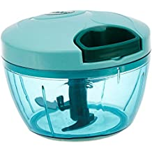 Amazon Brand - Solimo Compact Vegetable Chopper  (350ml, Green)