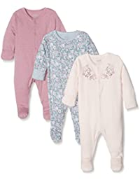 Mamas and Papas, Pyjama Bébé Fille (lot de 3)