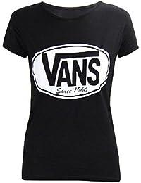Mix lot chemise à manches courtes nouvelles femmes VANS T-shirt ras du cou été occasionnel taille d'usure 36-42
