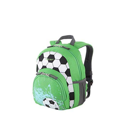 Fußball-mädchen-rucksack (Let's Go Kinderrucksack KRS/1 8Liter, praktischer Kindergartenrucksack mit Einhorn und Fußball Motiv für Mädchen und Jungen, Kinderrucksack aus strapazierfähigem Polyester (30x24x14cm))