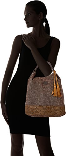 Timberland Tb0m5766, Borsa a Spalla Donna, 18x42x36 cm Marrone (Chocolate Brown)