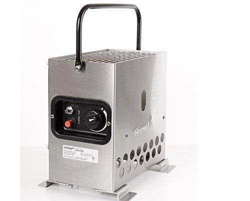 Heatbox 2000 edelstahl 50 mbar Zeltheizung Campingheizung Anglerheizung Jadgheizung