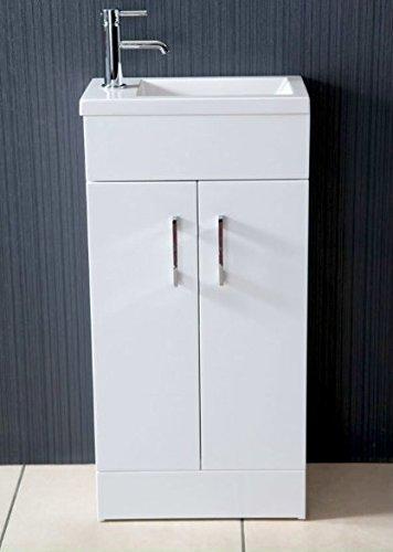 Highlife Bathrooms Guardaroba Libera Installazione Bianco Piccolo ...