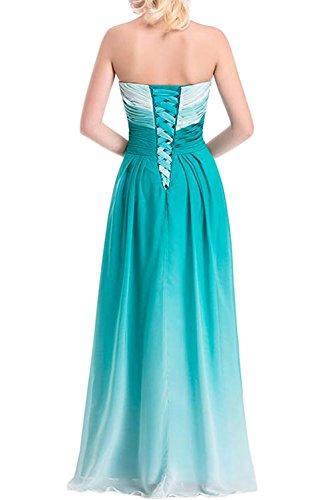 Gorgeous Bride Abendkleider Elegant Lang 2017 Damen Chiffon A-Linie Ballkleider Festkleider Cocktailkleider Z-Style C