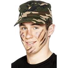 Smiffys - Gorra para disfraz de militar (adulto)