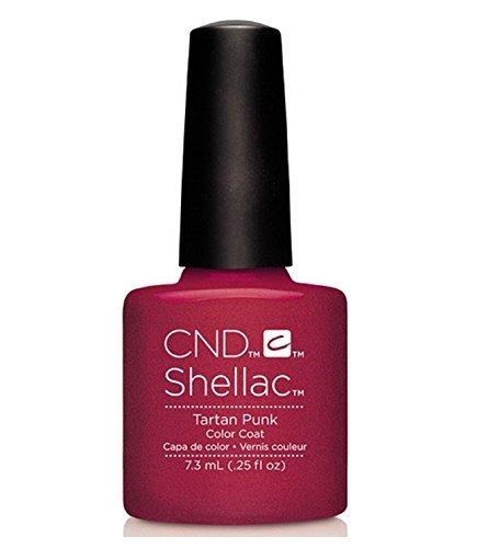 CND Shellac UV Gel Polish - Contradictions - Spring 2015 Collection - 0.25oz_TARTAN PUNK - C90876 **BCS_BW** by CND Cosmetics