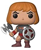 Funko- Masters of The Universe Pop Vinile Motu Battle Armor He-Man, 9 cm, 21805