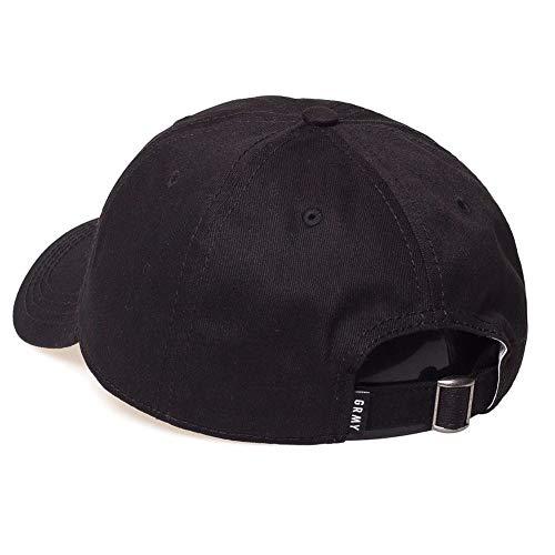 Imagen de grimey  x natos y waor curved visor negro ajustable alternativa