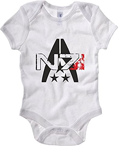 T-Shirtshock - Body Bebe TGAM0054 N7 Systems Alliance, Taille 18-24mois