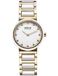 Bering Time Damen-Armbanduhr Ceramic Analog Quarz 10729-751