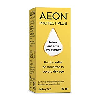 AEON Protect Plus - lubricating Eye Drops with Long-Lasting moisturising Effect 10 ml