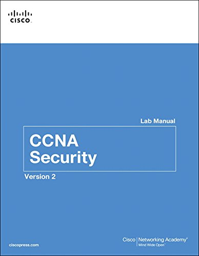 CCNA Security Lab Manual Version 2 (Lab Companion)