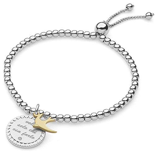 bracciale donna gioielli Comete Love Tag elegante cod. BRA 147