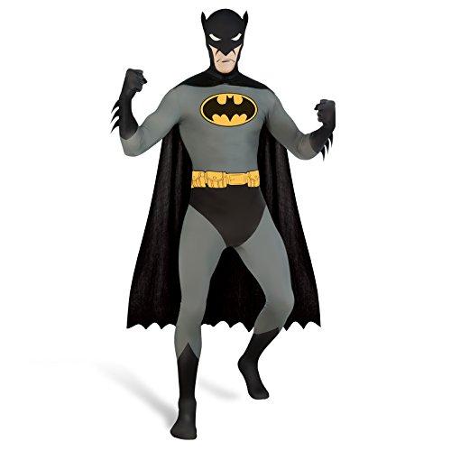 Catwoman Comic Kostüm (Batman Retro DC Comics Kostüm Jumpsuit mit Umhang abnehmbare Maske -)