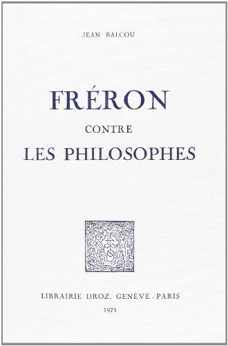Freron Contre les Philosophes
