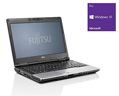 Fujitsu LifeBook S752 Notebook / Laptop | 14 Zoll Display (1366 x 768) | Intel Core i5-3320M @ 2,6 GHz | 8GB DDR3 RAM | 250GB SSD | DVD-Brenner | Windows 10 Pro (Zertifiziert und Generalüberholt)