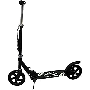 cox swain scooter roller super size 200mm black edition. Black Bedroom Furniture Sets. Home Design Ideas