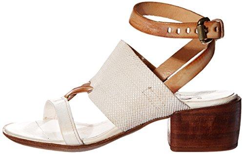 Airstep Loto, Sandales femme Blanc (Bianco)