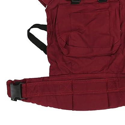 416p96Xr1tL. SS416  - REFURBISHHOUSEMochila Portabebe Algodon Comodo Ajustable para Bebes - Rojo