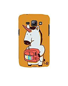 Aart Designer Luxurious Back Covers for Samsung Galaxy J1 2016 SM-J120F by Aart Store.