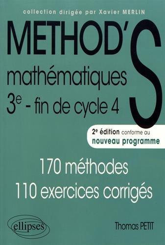Mathématiques - Troisième - 2e édition conforme à la réforme du collège