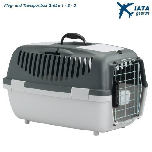 Hunde und Katzen Flugboxen / Transportboxen *IATA zugelassen*, Gr. 1