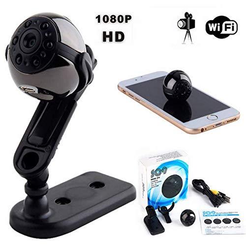 BUT Micro WiFi Mini Kamera, HD 1080P mit Smartphone App und Nacht...