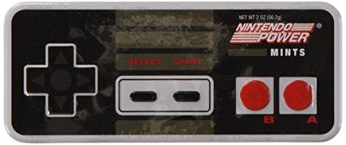 Boston America - Nintendo présentoir boîtes métal bonbons menthe NES Controller (