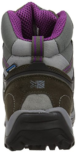 Karrimor - Stivali, Donna Grigio (Black Sea/Purple)