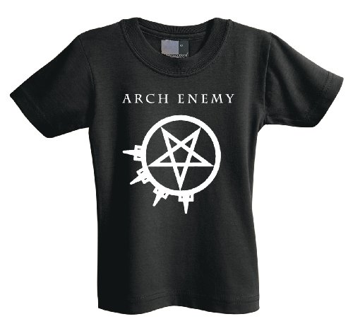 Arch Enemy Pentagramm 701208Kids t-shirt Black 9-10 Years