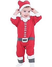Vine Suéter Navidad Ropa Bebé Peleles Invierno Abrigos Bebe Niño Sudaderas Niña Camisa Suéter Navidad Ropa 0-24 Meses