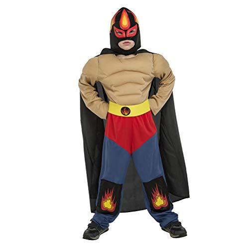 My Other Me Me-204926 Disfraz luchador Ramírez para niño, 7-9 años (Viving Costumes 204926)